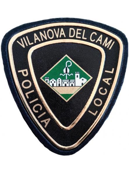 POLICÍA LOCAL DE VILANOVA DEL CAMI PARCHE INSIGNIA EMBLEMA DISTINTIVO