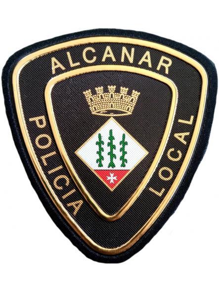 POLICÍA LOCAL DE ALCANAR PARCHE INSIGNIA EMBLEMA DISTINTIVO