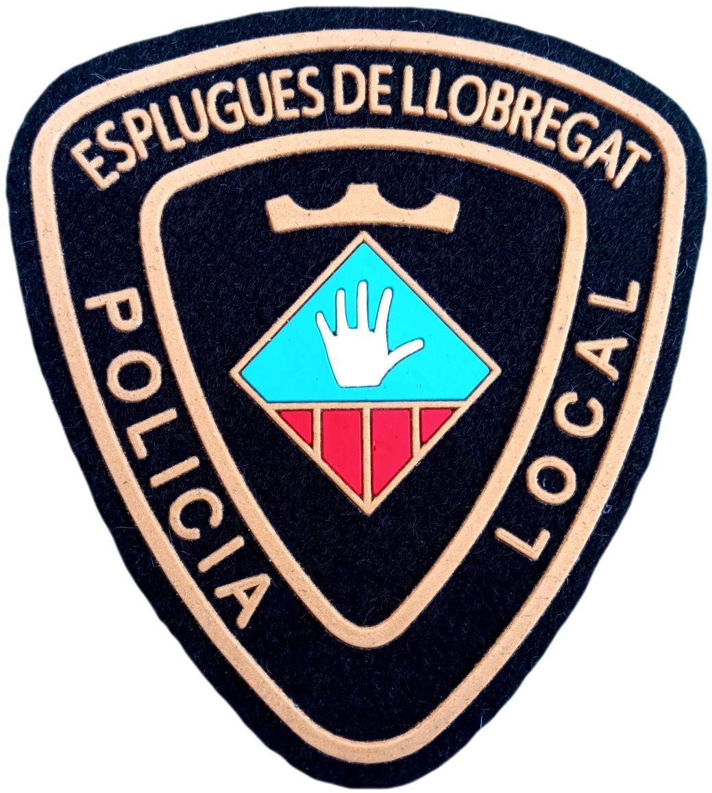 POLICÍA LOCAL ESPLUGUES DE LLOBREGAT PARCHE INSIGNIA EMBLEMA DISTINTIVO