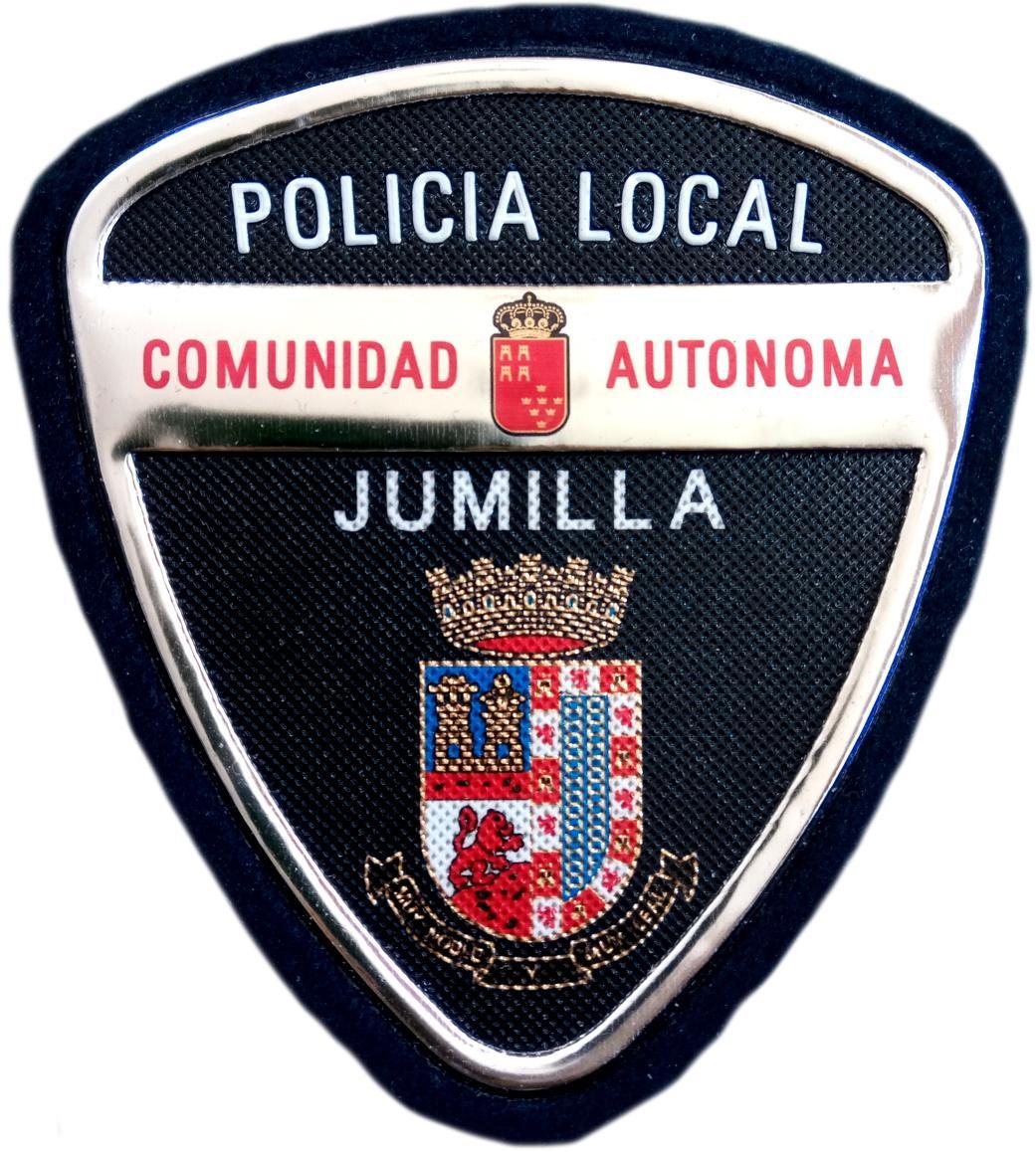 POLICÍA LOCAL DE JUMILLA PARCHE INSIGNIA EMBLEMA DISTINTIVO