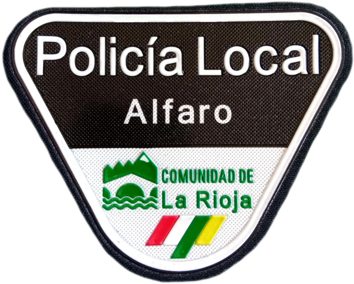 POLICÍA LOCAL DE ALFARO PARCHE INSIGNIA EMBLEMA DISTINTIVO