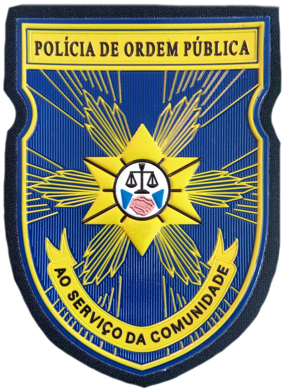 POLICÍA DE ORDEN PÚBLICO DE CABO VERDE PARCHE INSIGNIA EMBLEMA DISTINTIVO