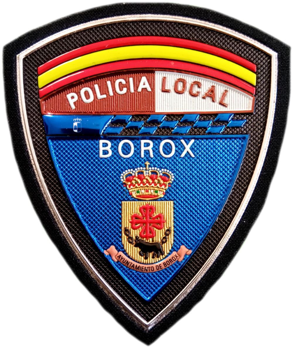 Policía Local Borox parche insignia emblema distintivo