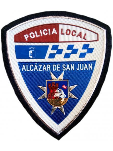POLICÍA LOCAL ALCÁZAR DE SAN JUAN PARCHE INSIGNIA EMBLEMA DISTINTIVO