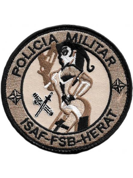 GUARDIA CIVIL POLICÍA MILITAR ISAF FSB HERAT PARCHE INSIGNIA EMBLEMA DISTINTIVO