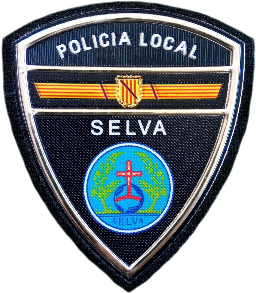 Policía Local Selva parche insignia emblema distintivo