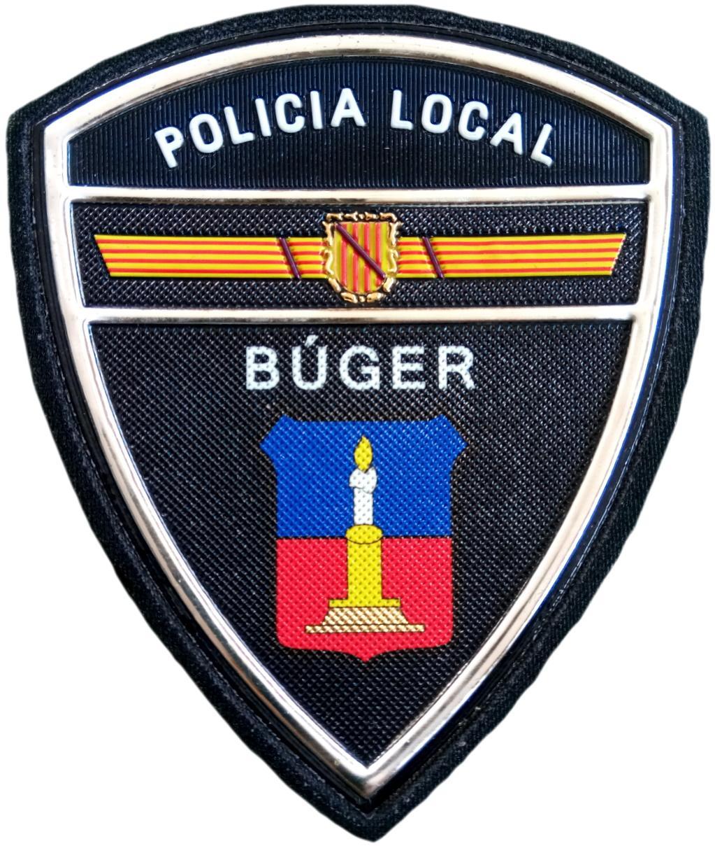 Policía Local Búger parche insignia emblema distintivo