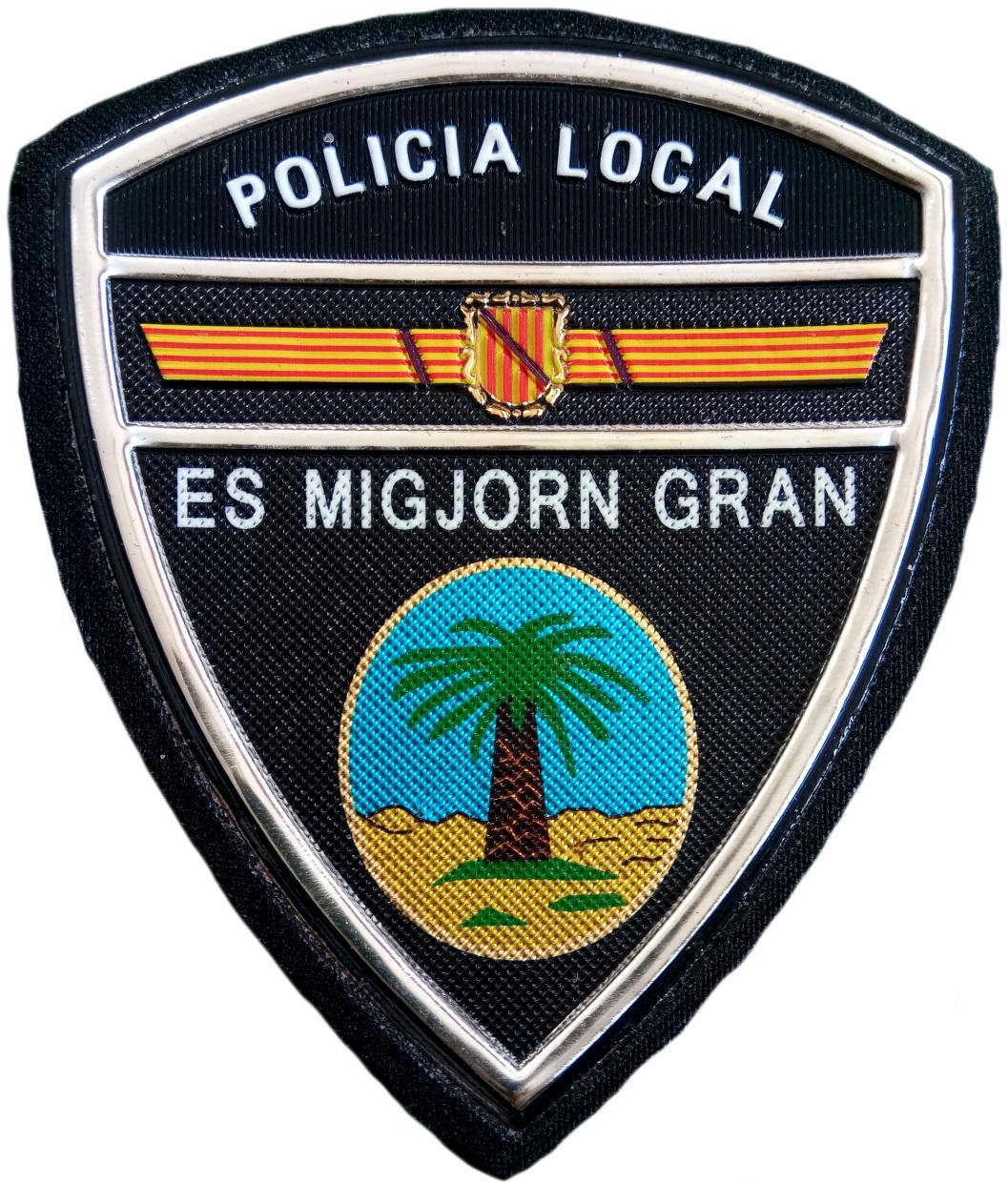 Policía Local Es Migjorn Gran parche insignia emblema distintivo