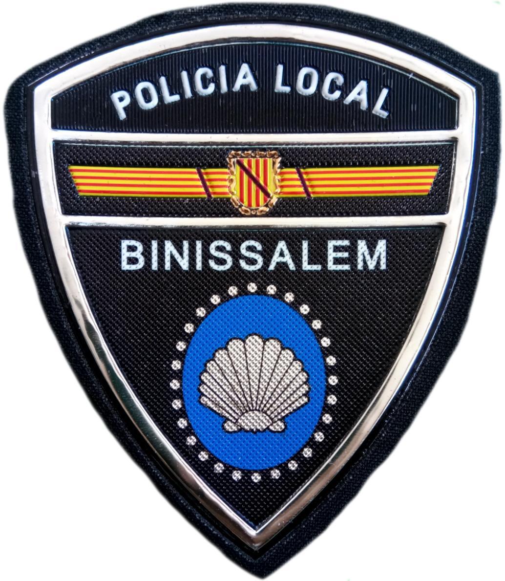 Policía Local Binissalem parche insignia emblema distintivo