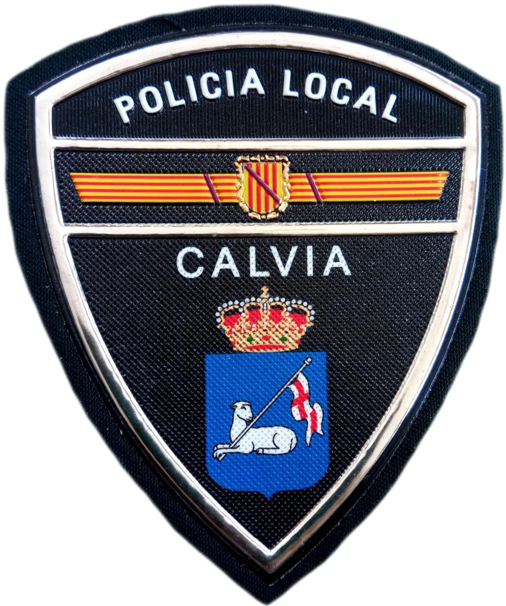 Policía Local Calvia parche insignia emblema distintivo