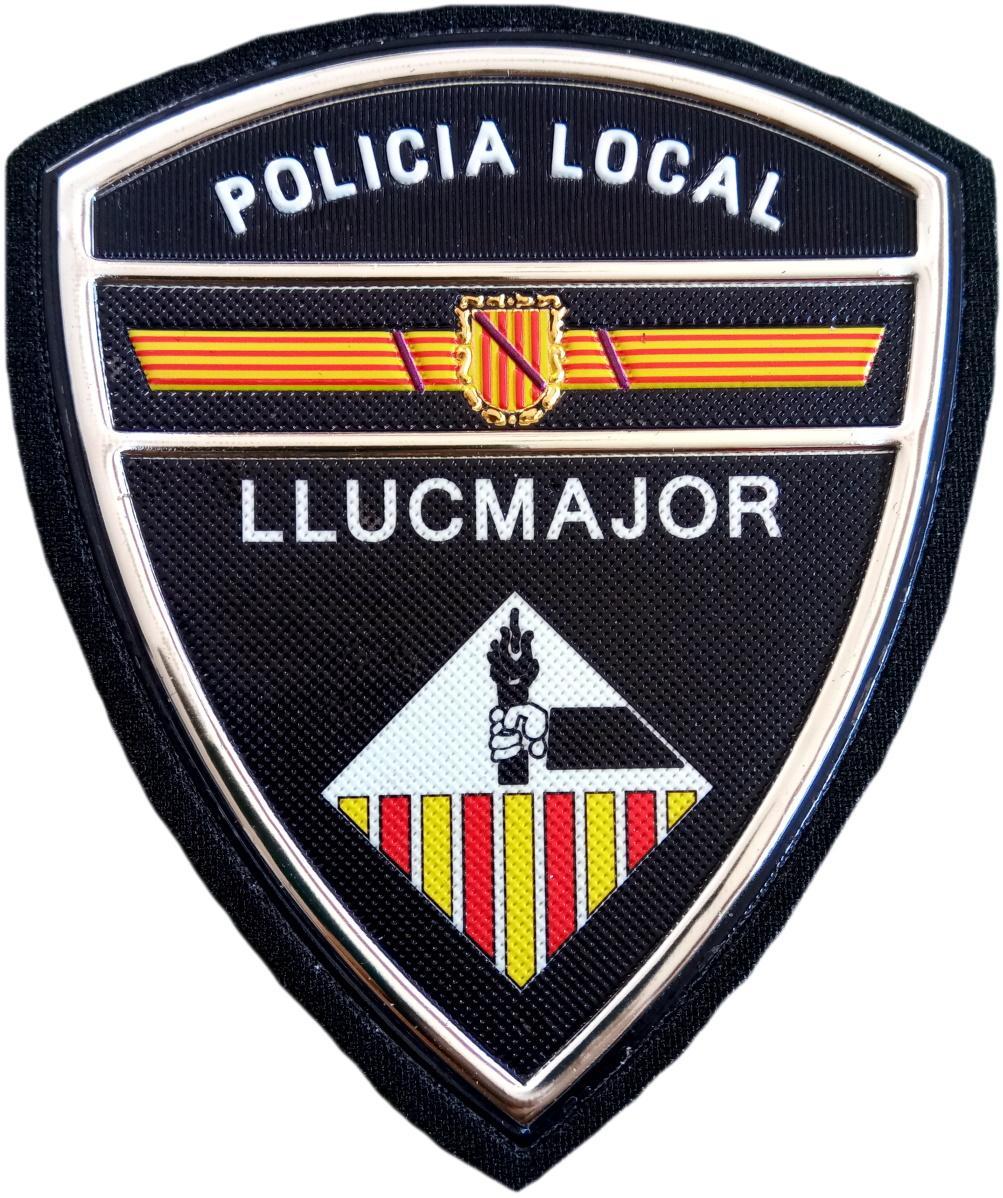 Policía Local Llucmajor parche insignia emblema distintivo