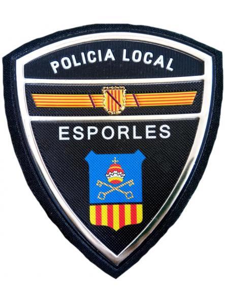 Policía Local Esporles parche insignia emblema distintivo