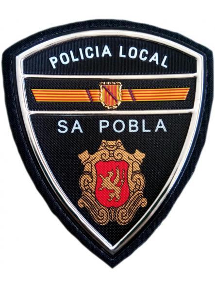 Policía Local Sa Pobla parche insignia emblema distintivo