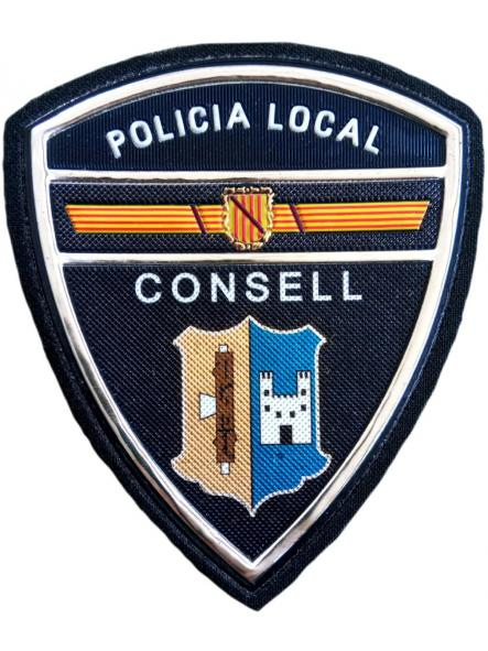 Policía Local Consell parche insignia emblema distintivo