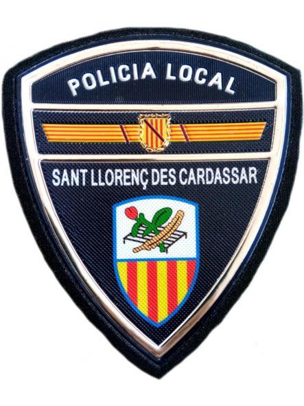 Policía Local Sant Llorenç des Cardassar parche insignia emblema distintivo