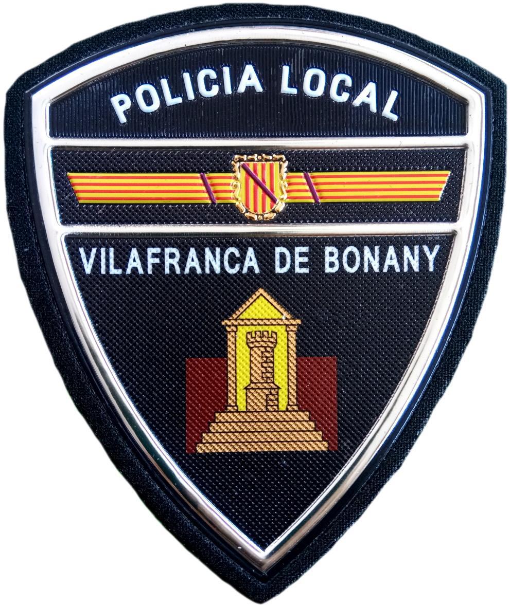 Policía Local Vilafranca de Bonany parche insignia emblema distintivo