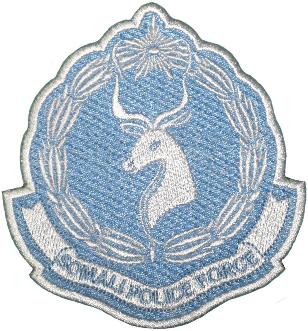 Policía Nacional de Somalia - Somali Police Force parche insignia emblema distintivo