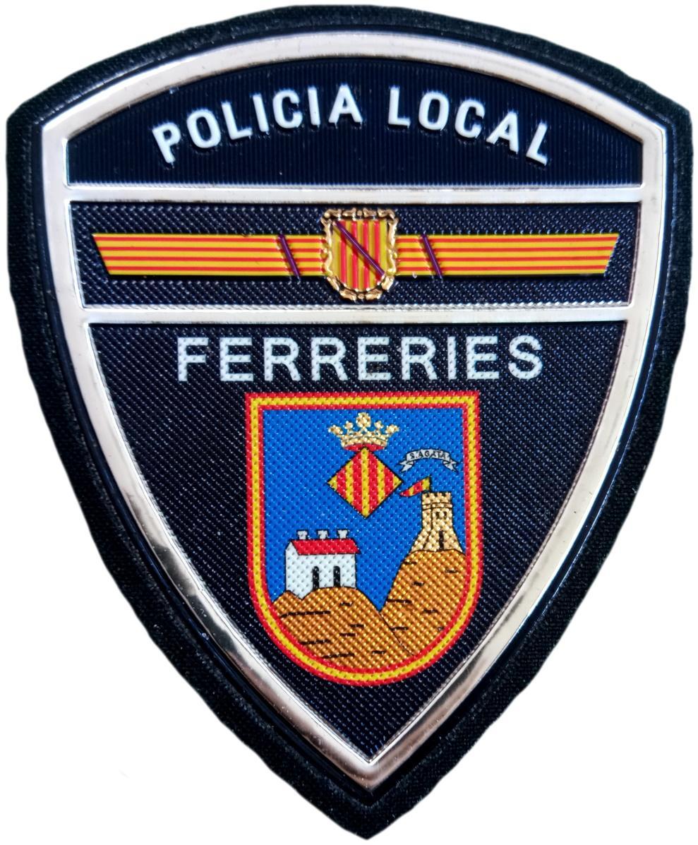 Policía Local Ferreries parche insignia emblema distintivo