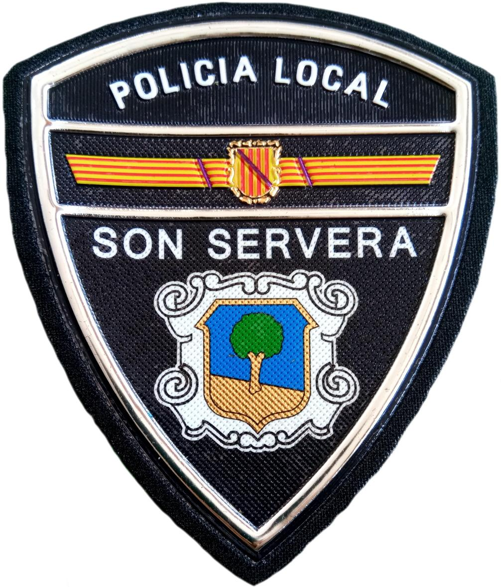 Policía Local Son Servera parche insignia emblema distintivo