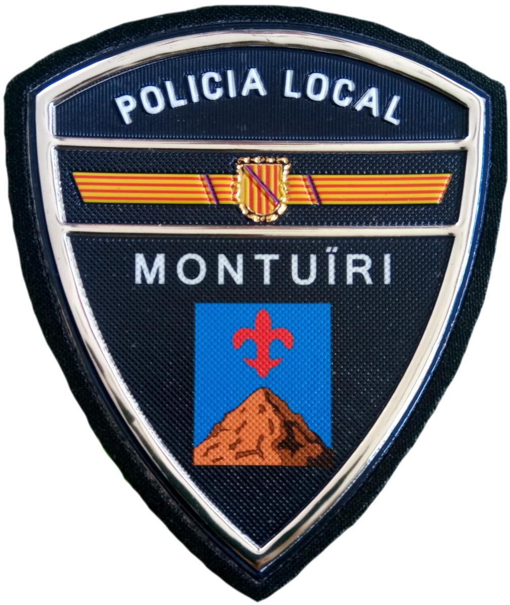 Policía Local Montuiri parche insignia emblema distintivo