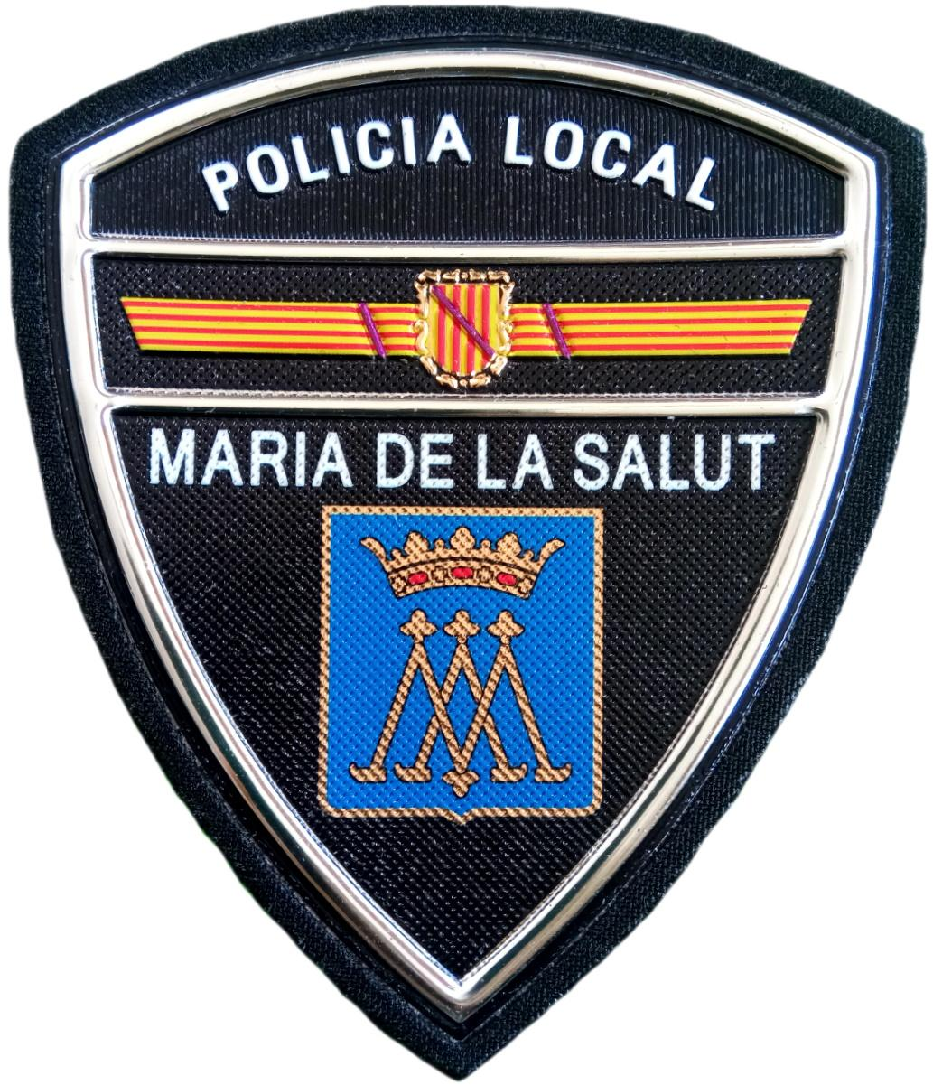 Policía Local María de la Salut parche insignia emblema distintivo