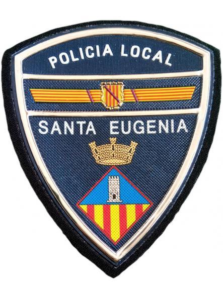 Policía Local Santa Eugenia parche insignia emblema distintivo