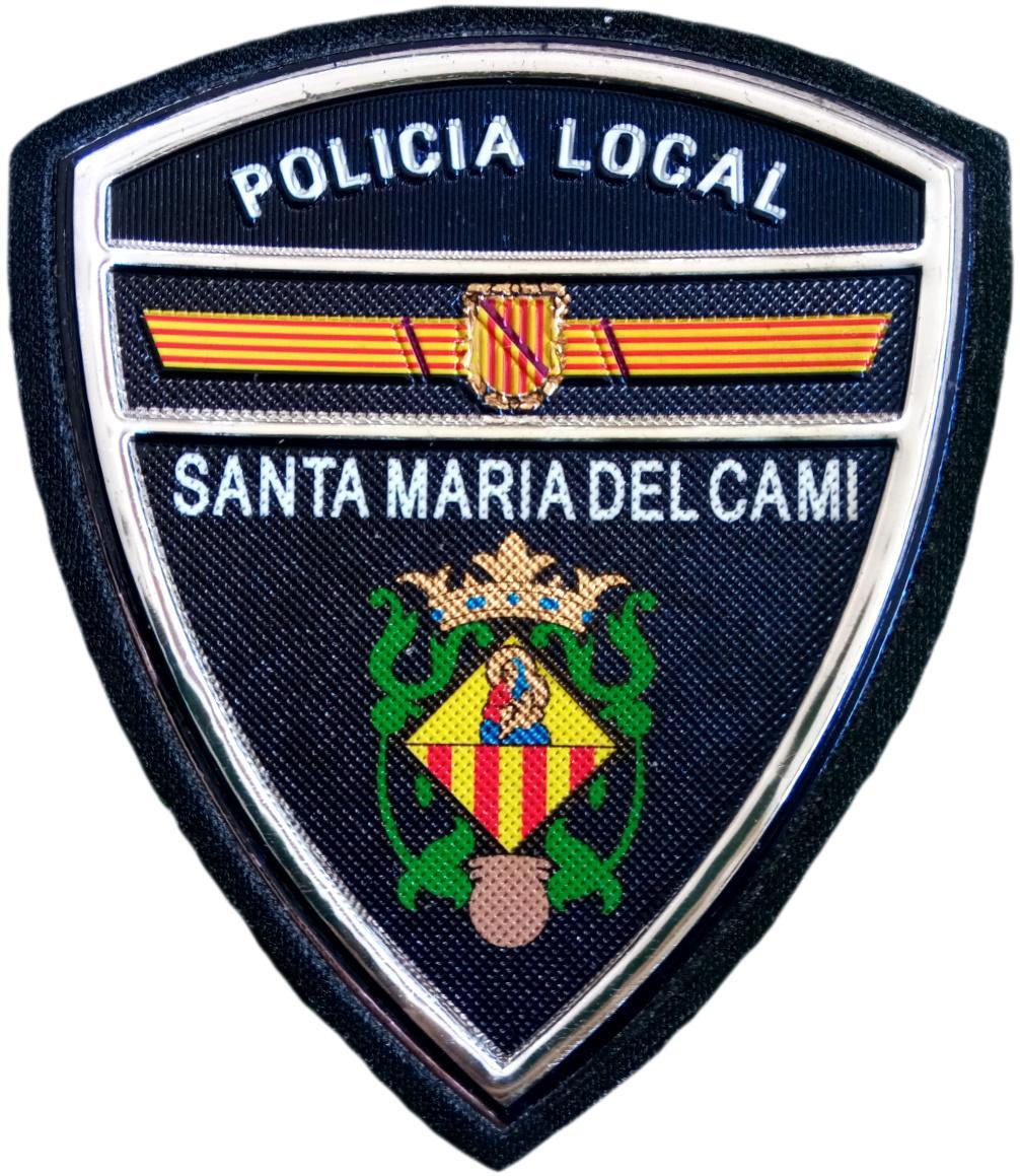 Policía Local Santa María del Camí parche insignia emblema distintivo