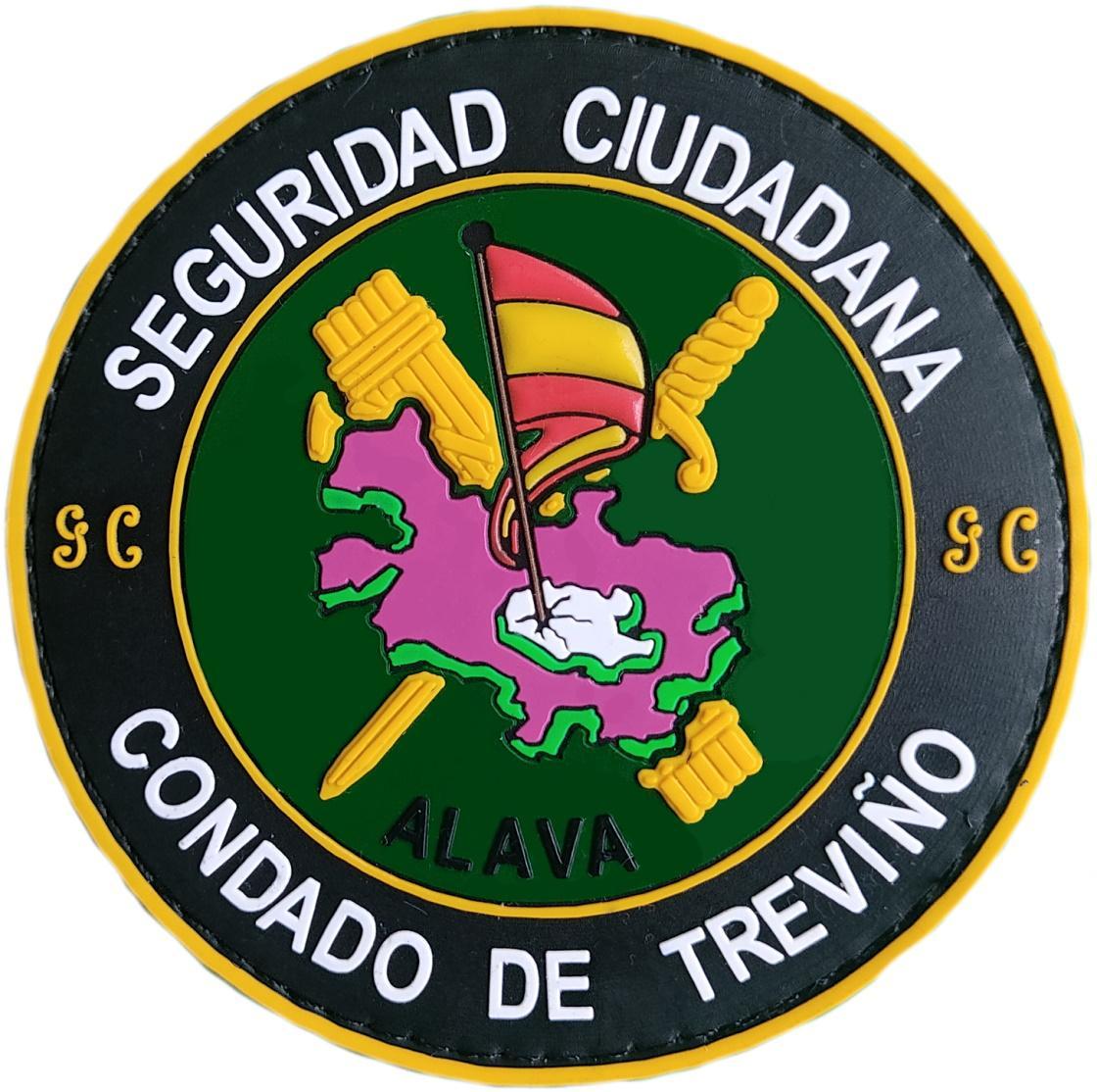 Guardia Civil Condado de Treviño Seguridad Ciudadana parche insignia emblema distintivo