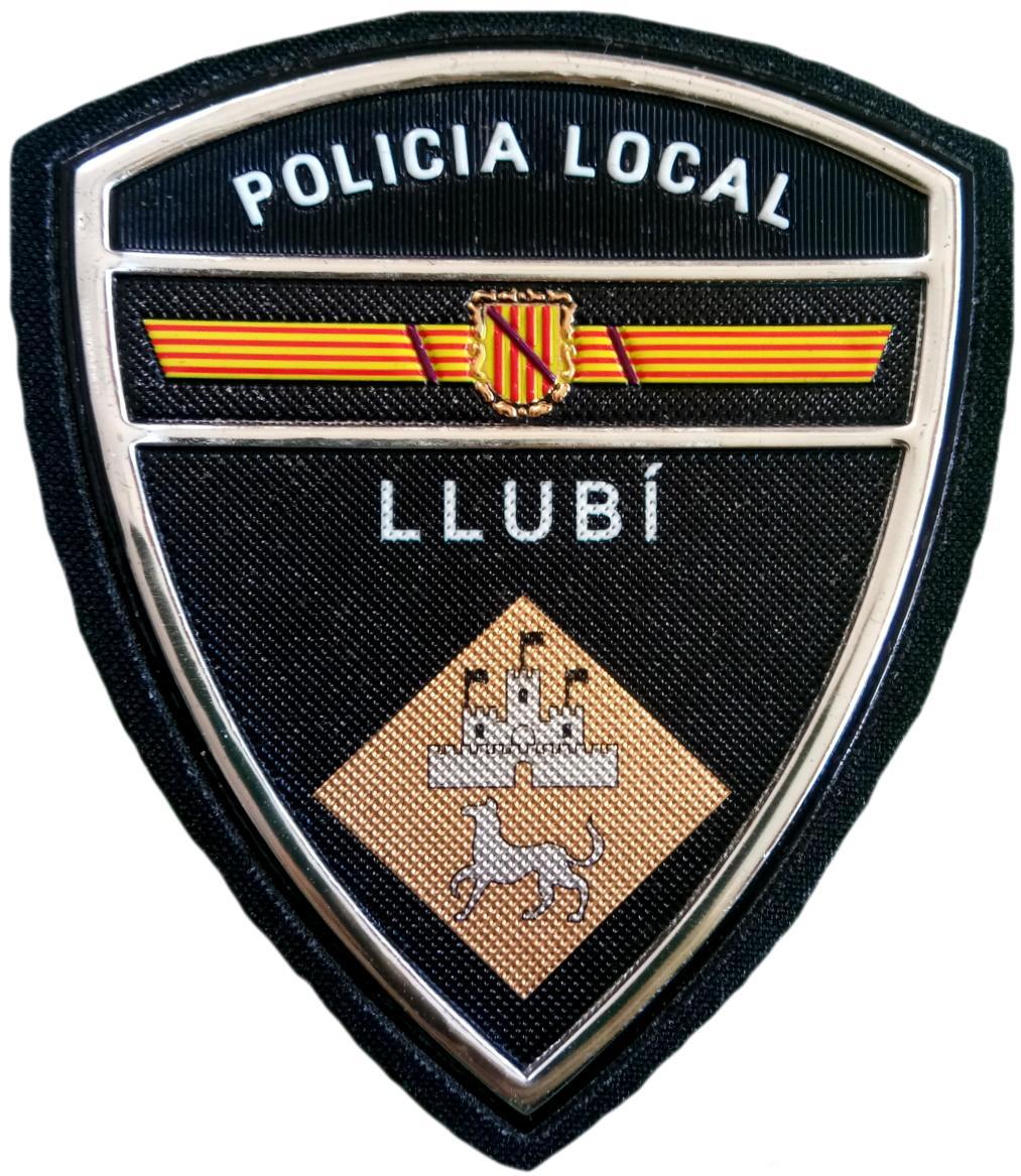 Policía Local Llubí parche insignia emblema distintivo