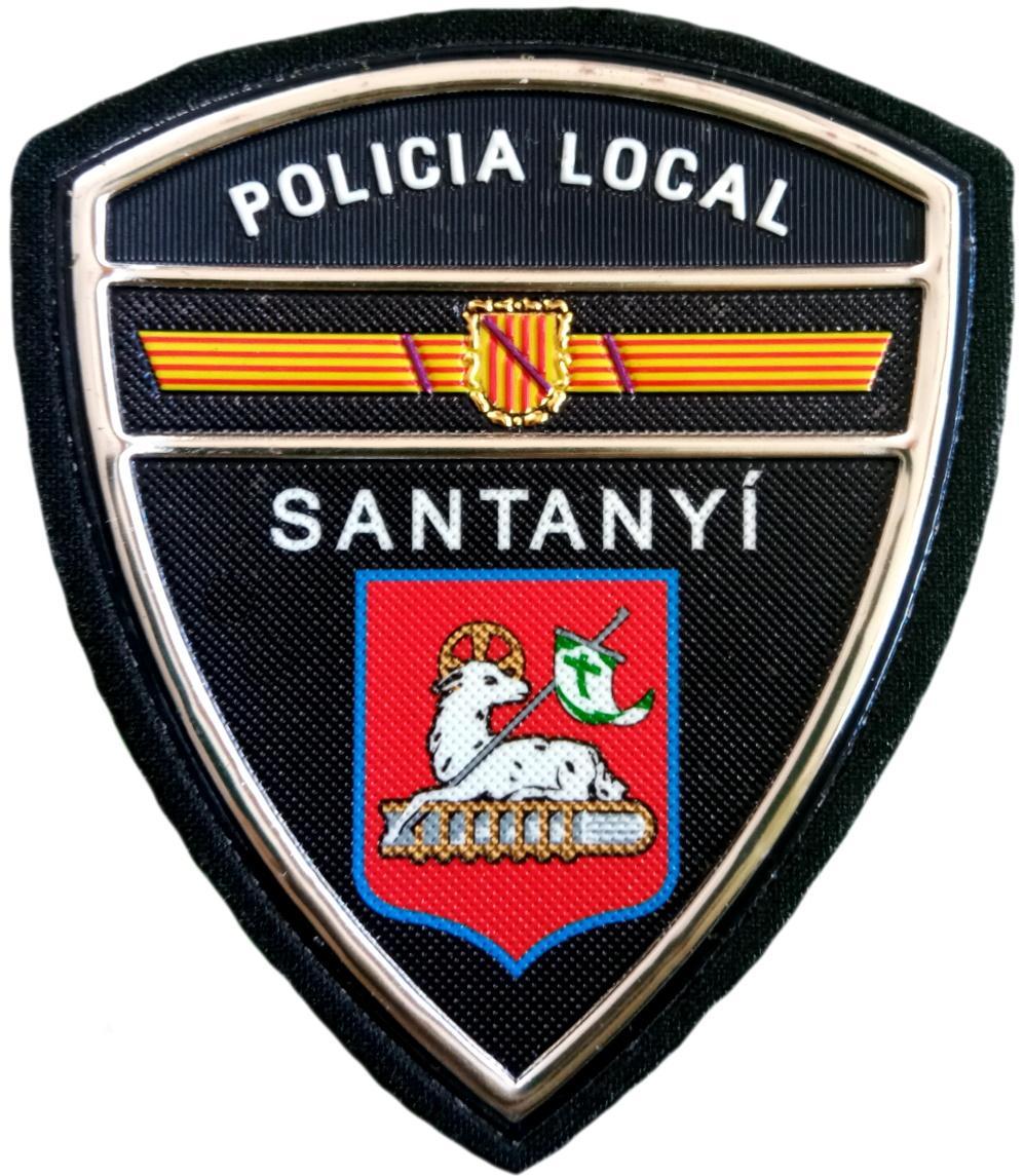 Policía Local Santanyí parche insignia emblema distintivo