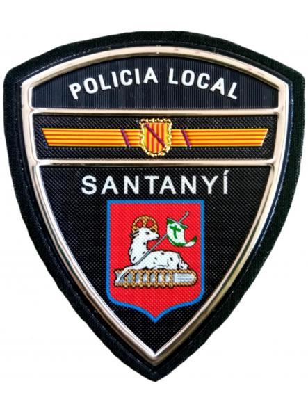 Policía Local Santanyí parche insignia emblema distintivo [0]