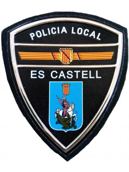 Policía Local Es Castell parche insignia emblema distintivo