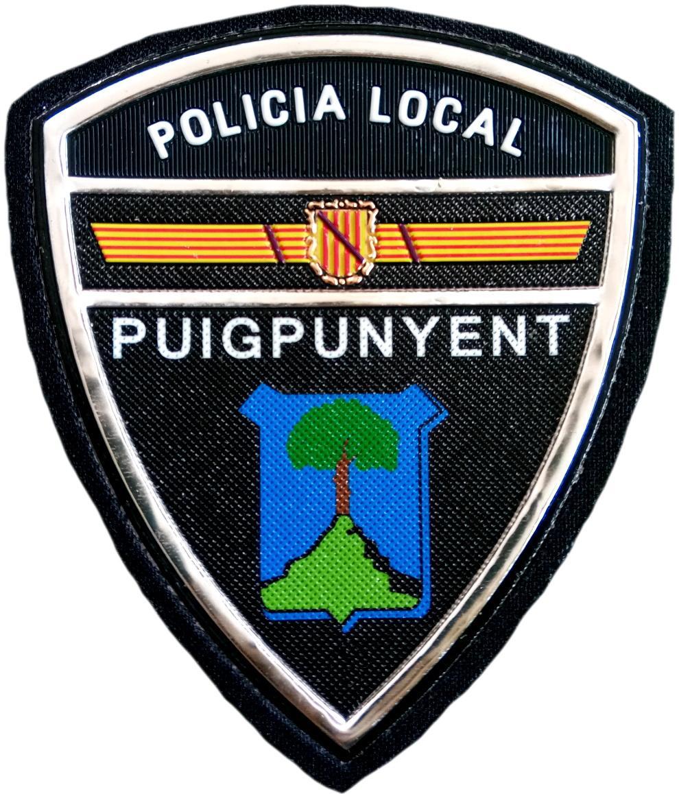 Policía Local Puigpunyent parche insignia emblema distintivo