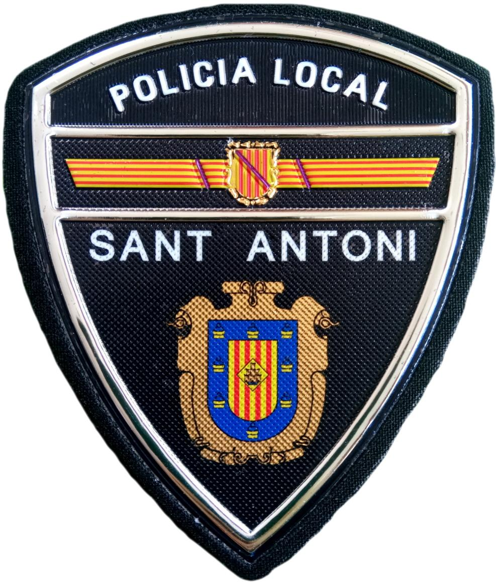 Policía Local Sant Antoni parche insignia emblema distintivo