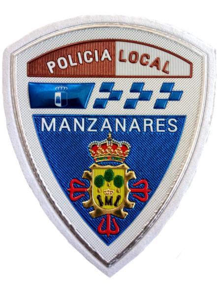Policía Local Manzanares parche insignia emblema distintivo