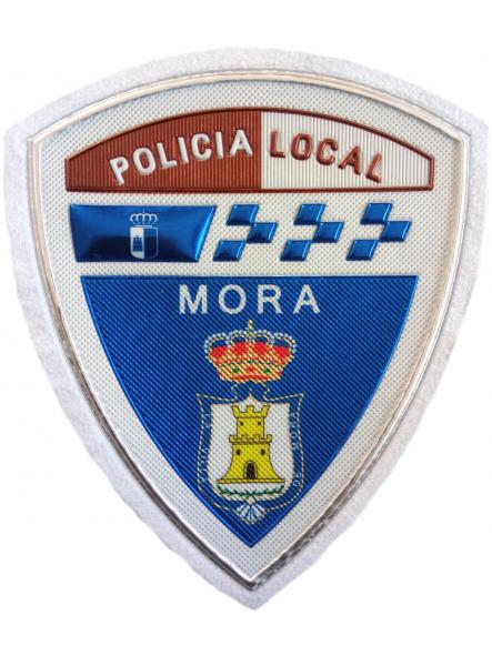 Policía Local Mora parche insignia emblema distintivo [0]