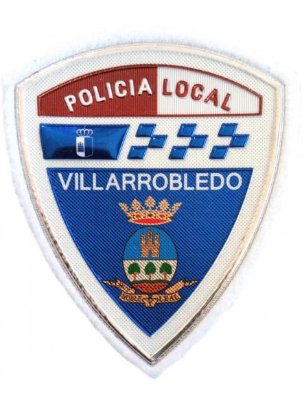 Policía Local Villarrobledo parche insignia emblema distintivo