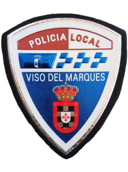 Policía Local Viso del Marques parche insignia emblema distintivo