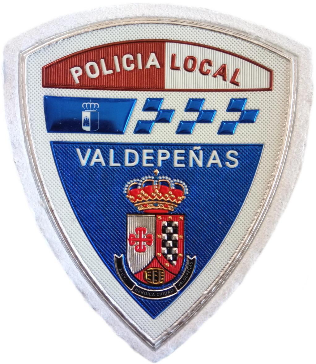 Policía Local Valdepeñas parche insignia emblema distintivo