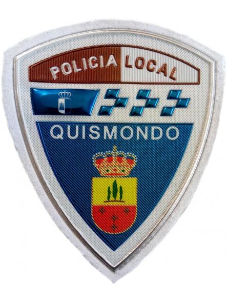 Policía Local Quismondo parche insignia emblema distintivo