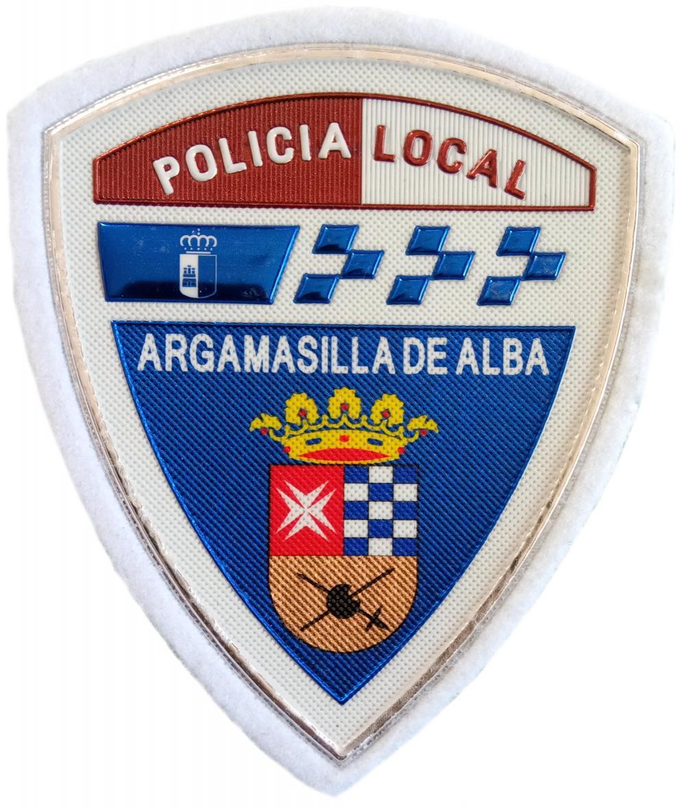 Policía Local Argamasilla de Alba parche insignia emblema distintivo