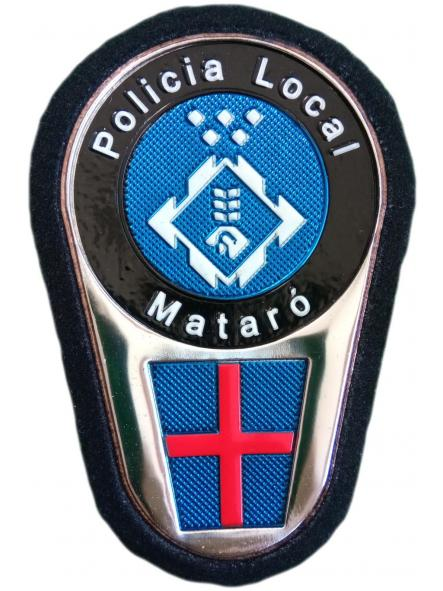 Policía Local de Mataró parche insignia emblema distintivo