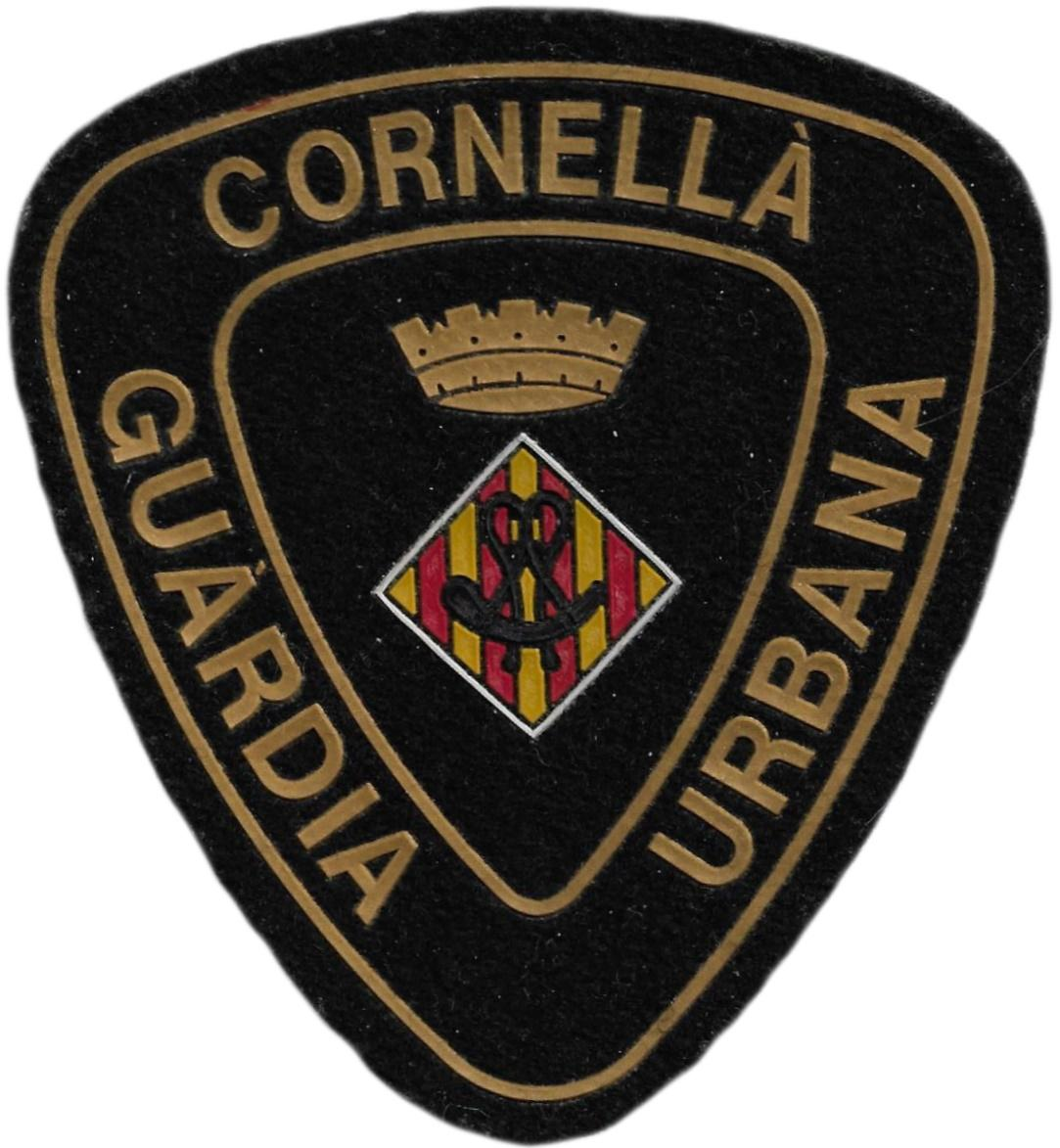 Policía Guardia Urbana de Cornella parche insignia emblema distintivo