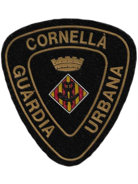 Policía Guardia Urbana de Cornella parche insignia emblema distintivo [0]