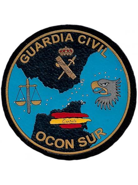 Guardia Civil Ocon sur anti drogas parche insignia emblema distintivo