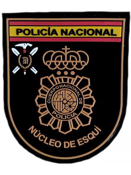 Policía Nacional CNP Núcleo de Esquí parche insignia emblema distintivo