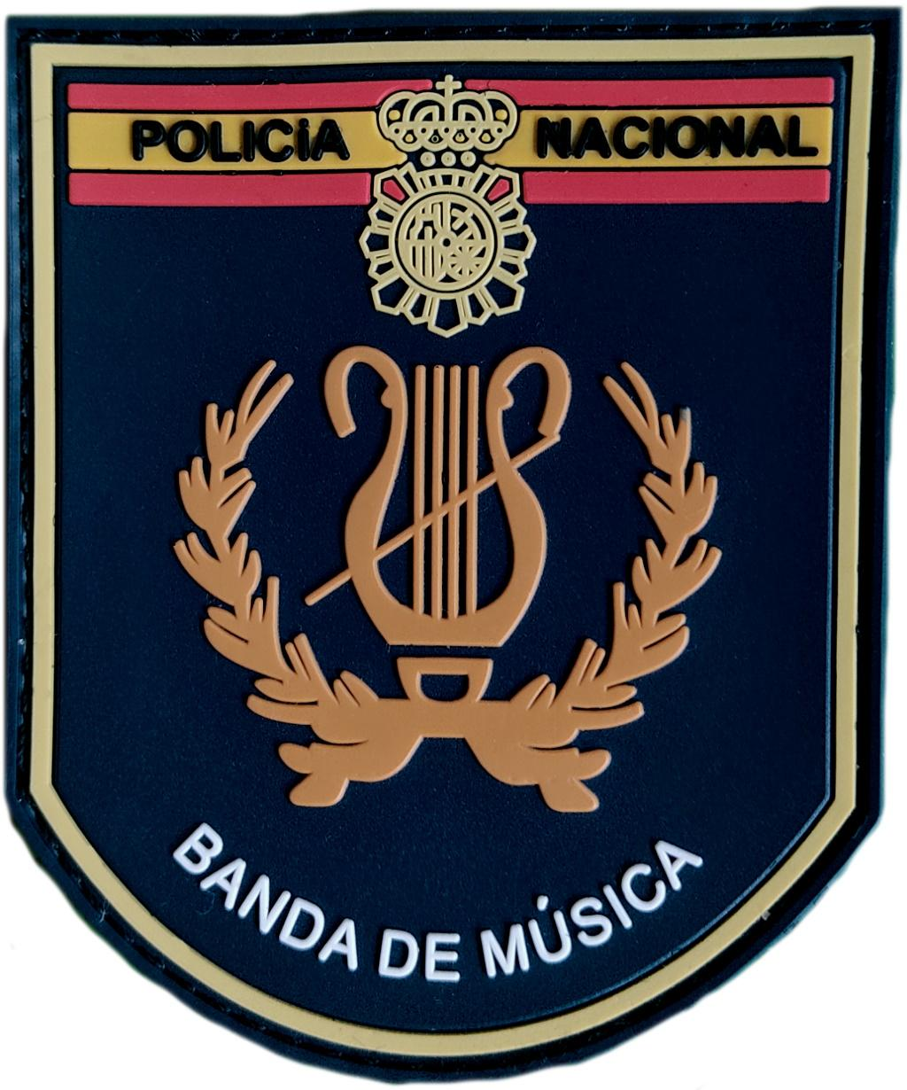 Policía Nacional CNP Banda de Música parche insignia emblema distintivo
