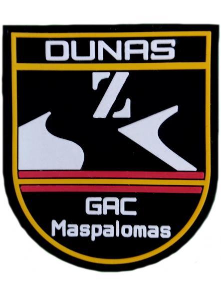 Policía Nacional CNP Grupo de Atención al Ciudadano GAC de Maspalomas Dunas Parche Insignia Emblema Distintivo