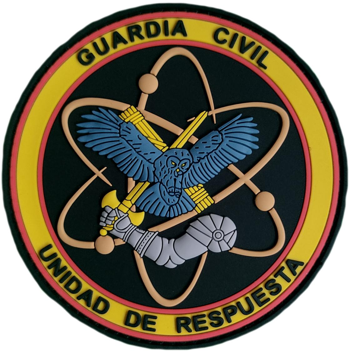 Guardia Civil Grupo de Reserva y Seguridad GRS Unidad de Respuesta parche insignia emblema distintivo