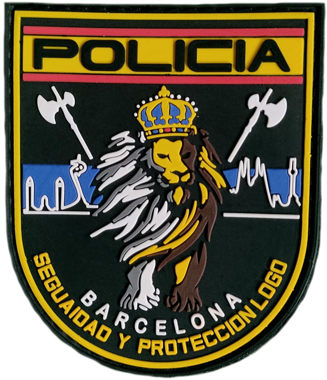 Policía Nacional CNP Barcelona Seguridad y Protección parche insignia emblema distintivo